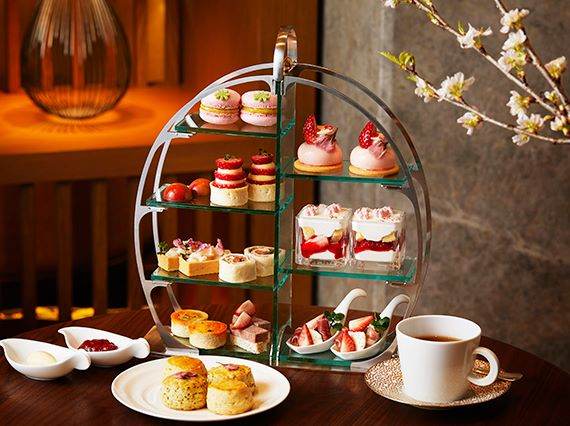 lalique afternoon tea